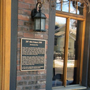 Historical Buildings Honoured with Bronze Plaques