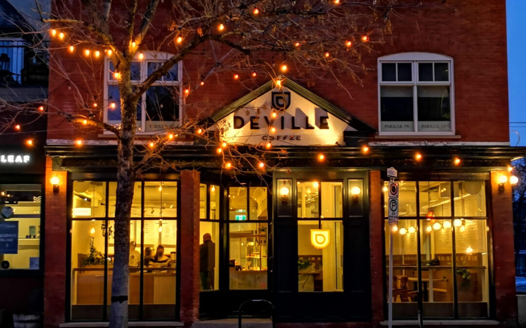 The Deville Coffee Building